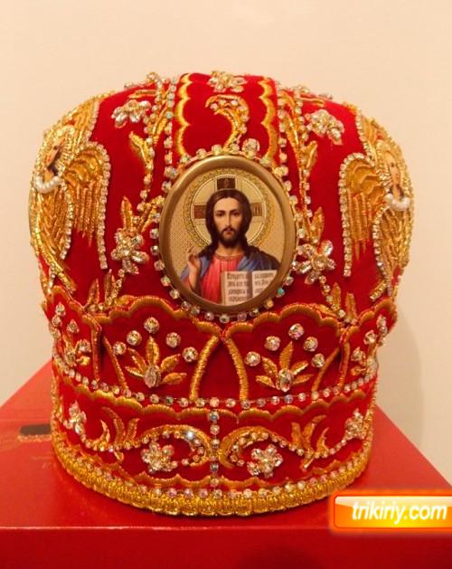 Купить митру в каталоге головных уборов для священников