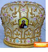 Митра головной убор священника на заказ в лавке