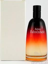 Тестер духи мужские Christian Dior Fahrenheit Aqua( Кристиан Диор Фаренгейт Аква)  без крышечки