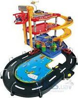 Игровой набор Bburago Гараж (3 уровня, 2 машинки) (18-30025)