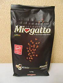Сухой корм MIOGATTO ADULT 0.2 для кошек с курицей и рисом 1,5кг