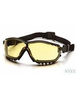 Очки Venture GB 1830ST с желтыми ударопрочными поликарбонатными линзами, диоптрические вставки, с защитой от царапин