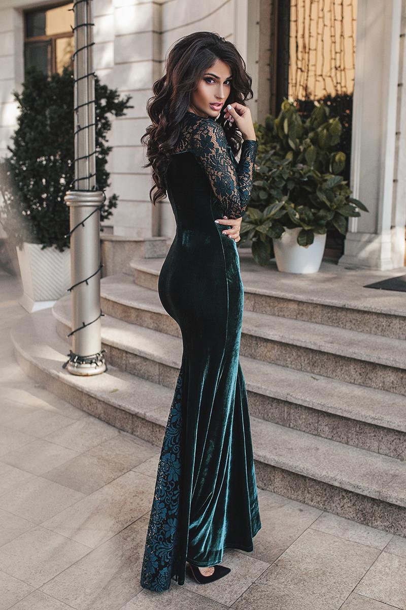 cdcaedc8e20c8e4 Роскошное вечернее изумрудное платье. 4 цвета. Р-ры: S, M., цена 552 ...