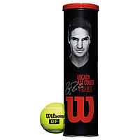 Теннисные мячи Wilson RF Legacy Tennis Balls, 4 мяча NEW