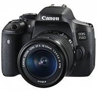 Цифровая зеркальная фотокамера Canon EOS 750D 18-55 IS STM KIT