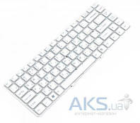 Клавиатура для ноутбука Sony VPC-EA Series. RU,Without Frame (148792471) White