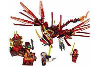 """Конструктор Ninja Lele 31016 """"Красный дракон"""" 319 деталей KK"""