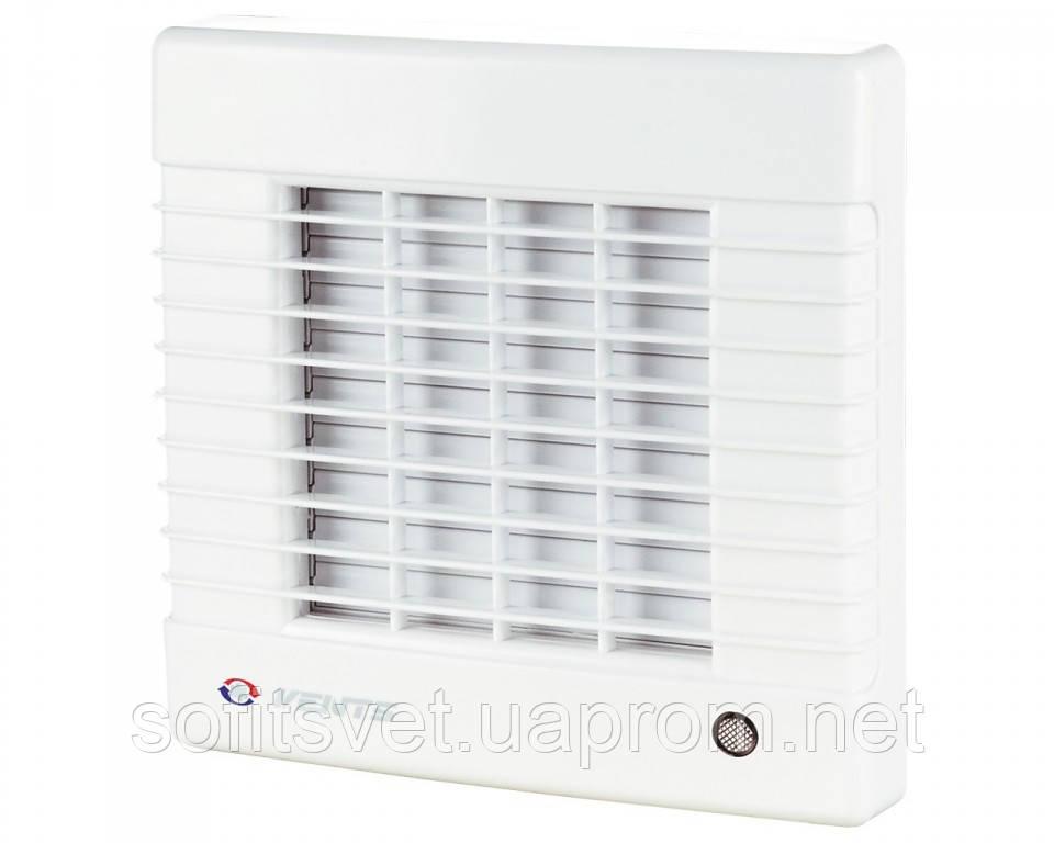 Вентилятор ВЕНТС 125 МА с автоматическими жалюзи