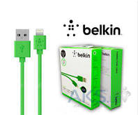 Кабель USB Belkin Lightning to USB ChargeSync Cable for iPhone 1.2m H Green (F8J023bt04-GNhc)