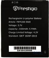 Аккумулятор Prestigio MultiPhone 5300 Duo / PAP5300 DUO (2100 mAh) Original