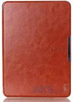 Обложка (чехол) Leather case for Amazon Kindle 6 Brown