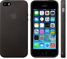 Apple High Copy Leather Case iPhone SE, iPhone 5S, iPhone 5 Black (MF045_HC)