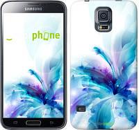 "Чехол на Samsung Galaxy S5 Duos SM G900FD цветок ""2265c-62-532"""