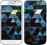 "Чехол на Samsung Galaxy S4 mini Треугольники ""2859c-32-532"""