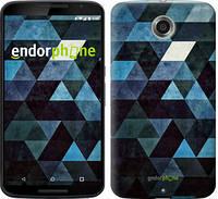 "Чехол на Motorola Nexus 6 Треугольники ""2859c-67-532"""