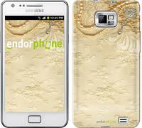 "Чехол на Samsung Galaxy S2 Plus i9105 Кружевной орнамент ""2160c-71-532"""