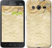 "Чехол на Samsung Galaxy Core 2 G355 Кружевной орнамент ""2160c-75-532"""