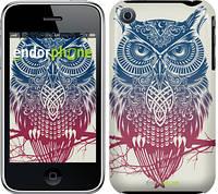 "Чехол на iPhone 3Gs Сова 2 ""2726c-34-532"""