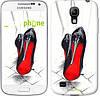 "Чехол на Samsung Galaxy S4 mini Devil Wears Louboutin ""2834c-32-532"""
