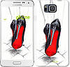 "Чехол на Samsung Galaxy Alpha G850F Devil Wears Louboutin ""2834c-65-532"""