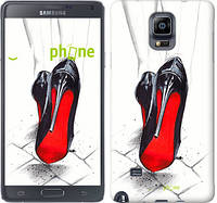 "Чехол на Samsung Galaxy Note 4 N910H Devil Wears Louboutin ""2834c-64-532"""