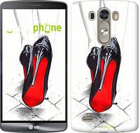 """Чехол на LG G3 dual D856 Devil Wears Louboutin """"2834c-56-532"""""""