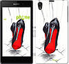 "Чехол на Sony Xperia Z1 C6902 Devil Wears Louboutin ""2834c-38-532"""