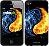 """Чехол на iPhone 4 Инь-Янь """"1670c-15-532"""""""