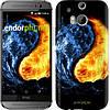"""Чехол на HTC One M8 Инь-Янь """"1670c-30-532"""""""