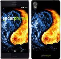 """Чехол на Sony Xperia Z3 dual D6633 Инь-Янь """"1670c-59-532"""""""