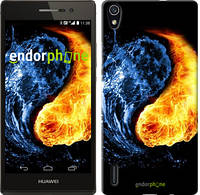 "Чехол на Huawei Ascend P7 Инь-Янь ""1670c-49-532"""