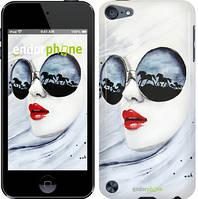 "Чехол на iPod Touch 5 Девушка акварелью ""2829c-35-532"""