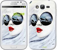 "Чехол на Samsung Galaxy Grand I9082 Девушка акварелью ""2829c-66-532"""