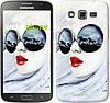 "Чехол на Samsung Galaxy Grand 2 G7102 Девушка акварелью ""2829c-41-532"""