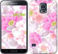 "Чехол на Samsung Galaxy S5 Duos SM G900FD Цвет яблони ""2225c-62-532"""