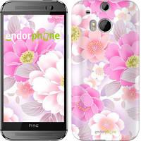 """Чехол на HTC One M8 Цвет яблони """"2225c-30-532"""""""