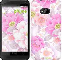 """Чехол на HTC One M7 Цвет яблони """"2225c-36-532"""""""