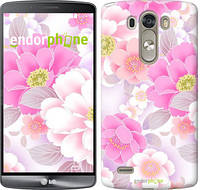 """Чехол на LG G3 dual D856 Цвет яблони """"2225c-56-532"""""""