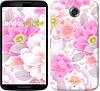 """Чехол на Motorola Nexus 6 Цвет яблони """"2225c-67-532"""""""