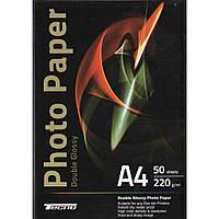 Бумага Tecno A4 220g 50 p. Doubl Glossy, Premium Photo Paper CB (PGD 220 A4 CP)