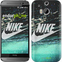 "Чехол на HTC One M8 dual sim Water Nike ""2720c-55-532"""