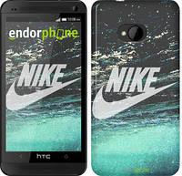 "Чехол на HTC One M7 Water Nike ""2720c-36-532"""