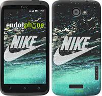 "Чехол на HTC One X+ Water Nike ""2720c-69-532"""