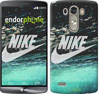 "Чехол на LG G3 D855 Water Nike ""2720c-47-532"""