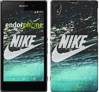 "Чехол на Sony Xperia Z1 C6902 Water Nike ""2720c-38-532"""