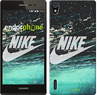 "Чехол на Huawei Ascend P7 Water Nike ""2720c-49-532"""