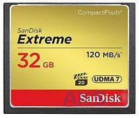 Карта памяти SanDisk 32Gb Compact Flash Extreme (SDCFXSB-032G-G46)