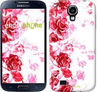 """Чехол на Samsung Galaxy S4 i9500 Нарисованные розы """"724c-13-532"""""""