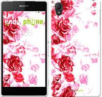 """Чехол на Sony Xperia Z2 D6502/D6503 Нарисованные розы """"724c-43-532"""""""
