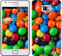 "Чехол на Samsung Galaxy S2 i9100 M&M's ""1637c-14-532"""
